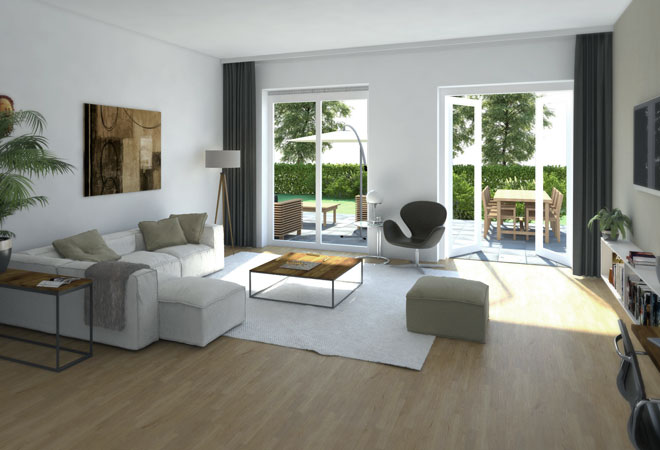 artist impression interieur - Pi3d visualisaties